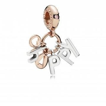 Foto de CHARMS ROSE CRISTAL ROSA HAPPY