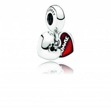 Picture of CHARM PLATA CORAZ MINNIE&MICKEY