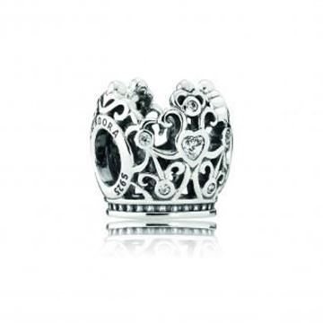 Picture of CHARM PLATA CIRC CORONA FILIGRANA
