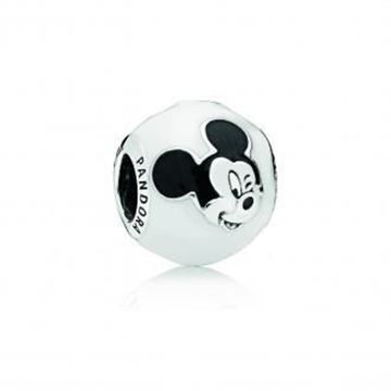 Picture of CHARM PLATA ESMAL BL/NG MICKEY