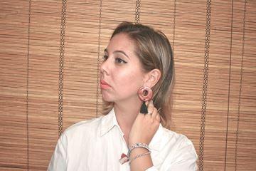 Foto de Pendientes Pompón
