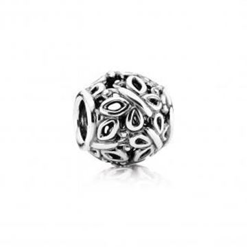 Picture of CHARM PLATA MARIPOSAS