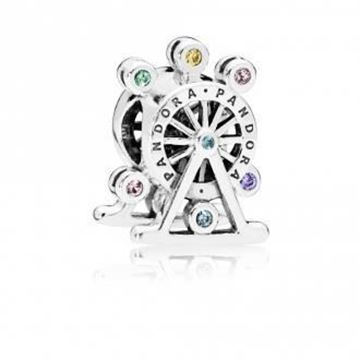 Picture of CHARM PLATA CRIST COLORS NORIA