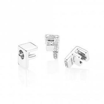 Picture of CHARM PLATA LETRA F