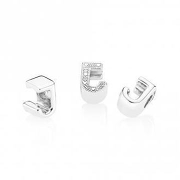Picture of CHARM PLATA LETRA J