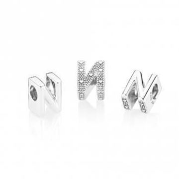 Picture of CHARM PLATA LETRA N