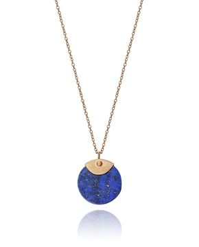Picture of COLGANTE PLATA Y LAPISLAZULI SRA JEWELS