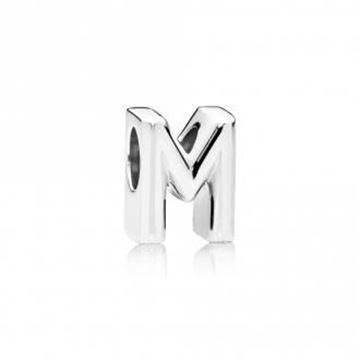 Picture of CHARM PLATA LETRA M
