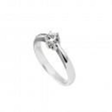 Picture of ANILLO PLATA CIRCONITA 5MM