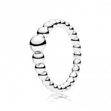 Picture of ANILLO PLATA GOTAS