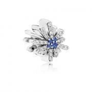 Picture of CHARM PLATA CRIST FUEGO ARTIF