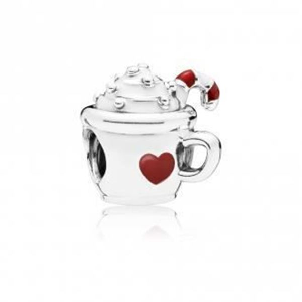 Picture of CHARM PLATA ESM TAZA CHOCOLATE