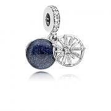 Picture of CHARM PLATA CIRC FUEGOS ARTIFI