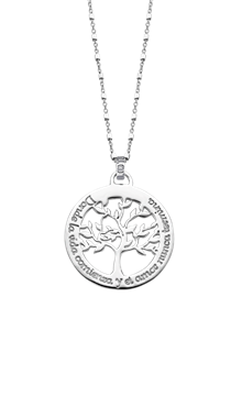 Picture of LOTUS SILVER COLLAR SRA ARBOL FRASE