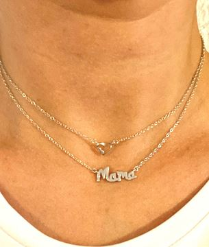 Picture of COLLAR PLATA MAMA DOBLE